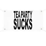 Tea Party Sucks Banner
