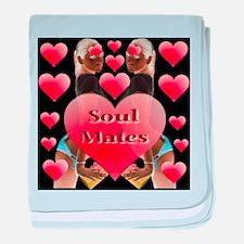 Soul Mates baby blanket