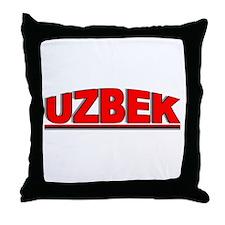 """Uzbek"" Throw Pillow"