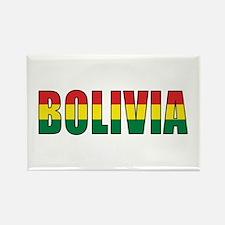 Bolivia Rectangle Magnet
