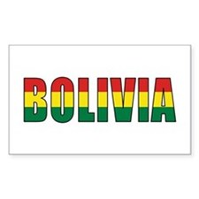 Bolivia Decal