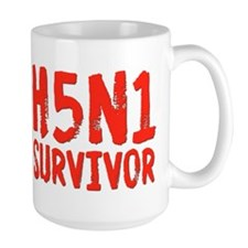H5N1 Survivor Bird Flu Mug