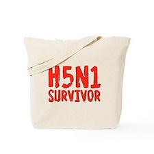 H5N1 Survivor Bird Flu Tote Bag