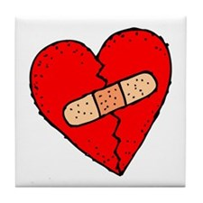 MENDED HEART Tile Coaster