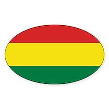 Bolivia Civil Ensign Decal