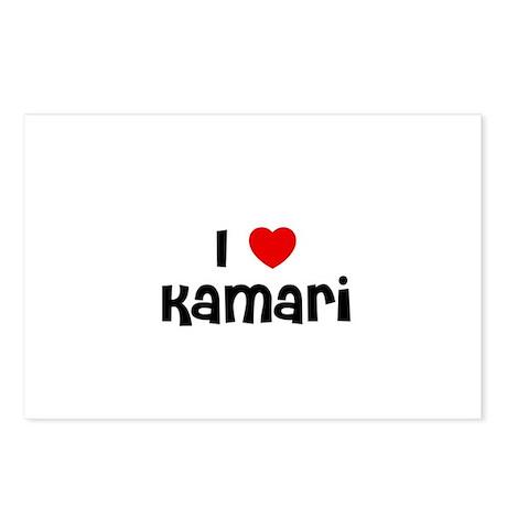 I * Kamari Postcards (Package of 8)