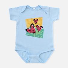 HEART TRIO {2} Infant Bodysuit