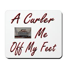 A Curler Swept Me Off My Feet Mousepad
