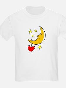 HEARTS ON THE MOON {3} T-Shirt