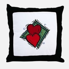 HEARTS {18} Throw Pillow