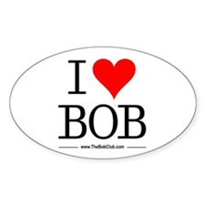 I (Heart) Bob Decal