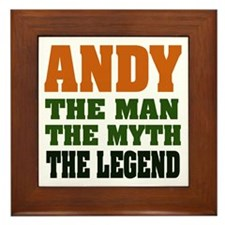 ANDY - The Legend Framed Tile