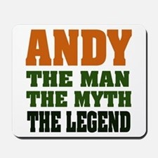 ANDY - The Legend Mousepad