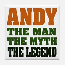 ANDY - The Legend Tile Coaster