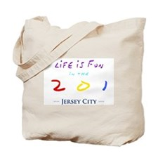 Jersey City Tote Bag