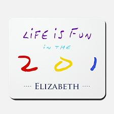 Elizabeth Mousepad