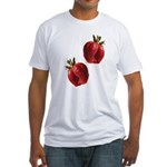 Strawberries Fitted T-Shirt