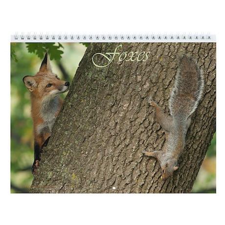 Foxes-2013 Calendar