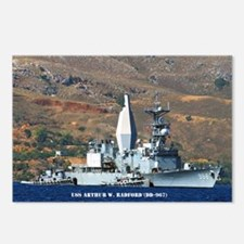 USS ARTHUR W. RADFORD Postcards (Package of 8)