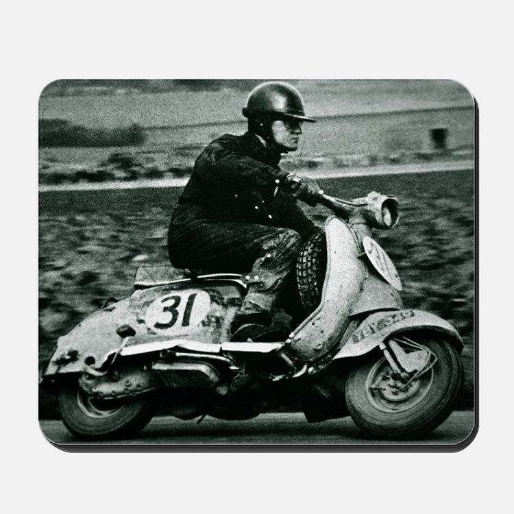 Scooter Race Mousepad