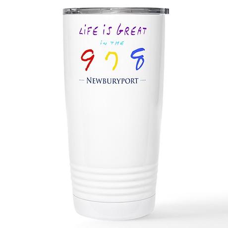 Newburyport Stainless Steel Travel Mug