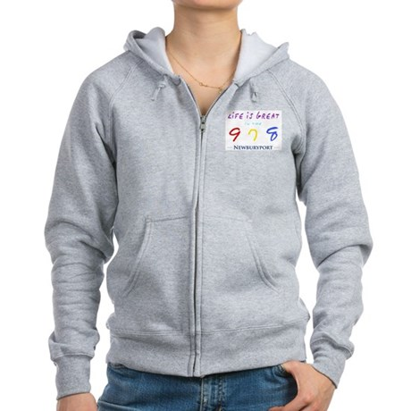 Newburyport Women's Zip Hoodie
