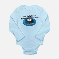 IKE BITES Long Sleeve Infant Bodysuit
