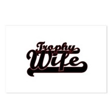 Trophy Wife Postcards (Package of 8)