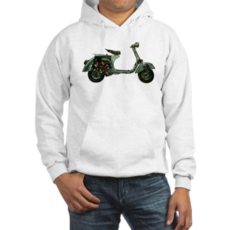 Scooter Cut-Away Hooded Sweatshirt