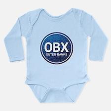 OBX - Outer Banks Long Sleeve Infant Bodysuit
