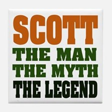 SCOTT - The Legend Tile Coaster