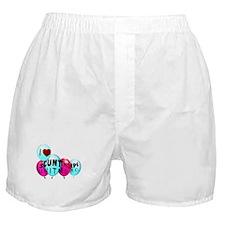 I Love Scunthorpe United FC Boxer Shorts