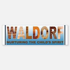 Waldorf Bumper Bumper Sticker