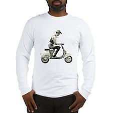 Scooter Cowboy! Long Sleeve T-Shirt