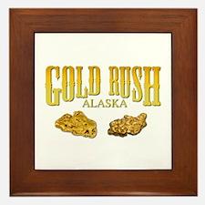 Gold Rush Framed Tile