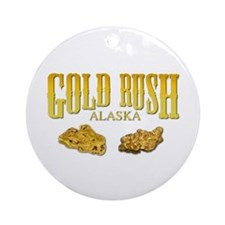 Gold Rush Ornament (Round)
