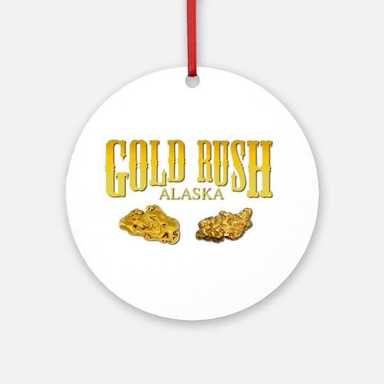 Gold Rush Ornament (Round)
