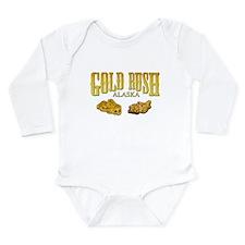 Gold Rush Long Sleeve Infant Bodysuit