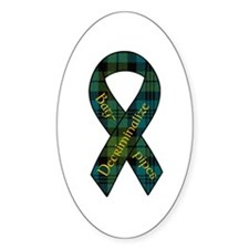 Decriminalize Bagpipes Sticker (Oval)