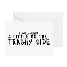 I love a women a little on th Greeting Cards (Pack