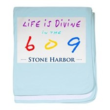 Stone Harbor baby blanket