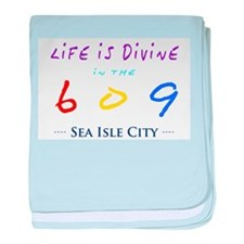 Sea Isle City baby blanket