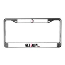 Cute Icon License Plate Frame