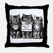 Save Us! Throw Pillow