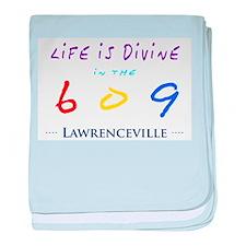 Lawrenceville baby blanket