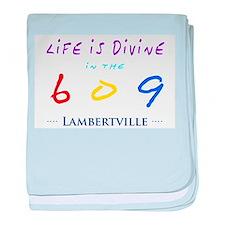 Lambertville baby blanket