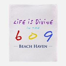 Beach Haven Throw Blanket