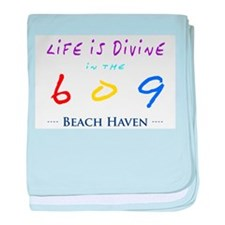 Beach Haven baby blanket
