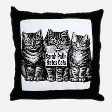 Sarah Hates Us Throw Pillow