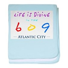 Atlantic City baby blanket
